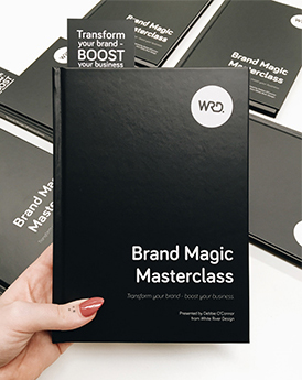Brand Magic Workbook - worksheets and hands on learning on how to create a brand strategy