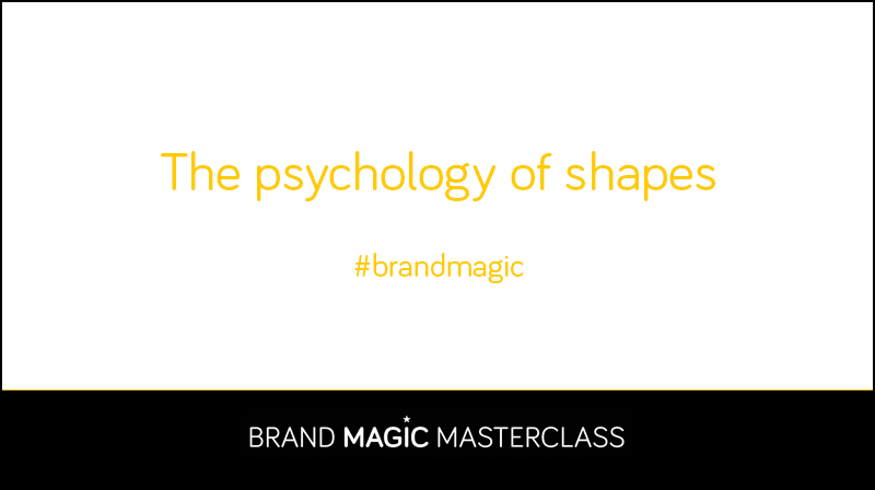 Learn about the psychology of shapes to develop your brand strategy
